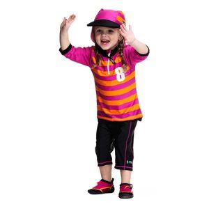 Costum De Baie Sport Pink Marime 86- 92 Protectie Uv Swimpy imagine