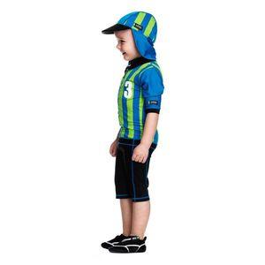 Costum De Baie Sport Blue Marime 98- 104 Protectie Uv Swimpy imagine