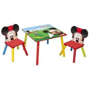 Set masuta si 2 scaunele Disney Mickey Mouse imagine