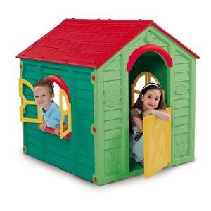 Casuta Pentru Copii Ranch 4, Verde imagine