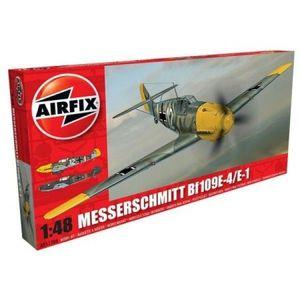 Kit Aeromodele Airfix 5120a Avion Messerschmitt Bf109e-4/e-1 Scara 1: 48 imagine