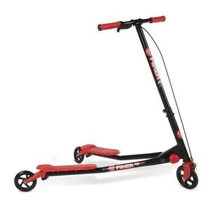 Ybike Yvolution Fliker A3 Black Red - Roller imagine