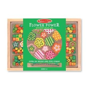 Set Margele Din Lemn Flower Power Melissa And Doug imagine
