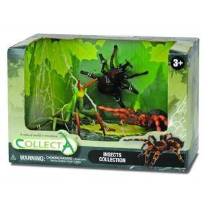 Set 3 Figurine Insecte Collecta imagine