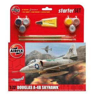 Kit Aeromodele Airfix 55203 Avion Douglas A4-b Skyhawk Scara 1: 72 imagine