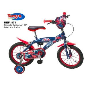 Bicicleta 14'' Spiderman imagine