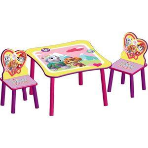 Set masuta si 2 scaunele Paw Patrol Girl imagine