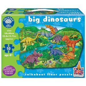 Puzzle de Podea Dinozauri 50 Piese imagine