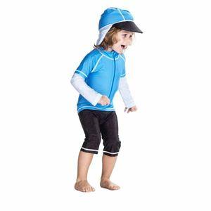 Costum De Baie Blue Ocean Marime 98- 104 Protectie Uv Swimpy imagine