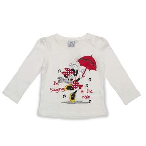 Bluza alba, Minnie Mouse imagine