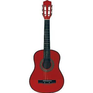 Chitara din lemn, rosie imagine