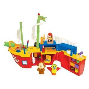 Barca Piratilor Cu Sunete Lumini Si Activitati Kiddieland imagine