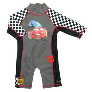Costum De Baie Cars Marime 98-104 Protectie Uv Swimpy imagine
