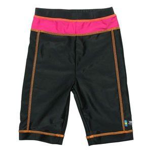 Pantaloni de baie pink black marime 92- 104 protectie UV Swimpy imagine