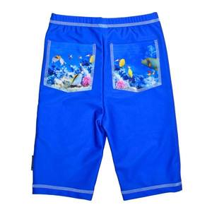 Pantaloni de baie Coral Reef marime 110- 116 protectie UV Swimpy imagine