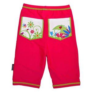 Pantaloni de baie Flowers marime 122-128 protectie UV Swimpy imagine