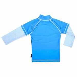 Tricou de baie Blue Ocean marimea 110- 116 protectie UV Swimpy imagine