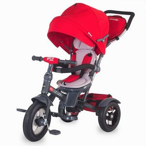 Tricicleta COCCOLLE Giro Plus multifuntionala rosu imagine