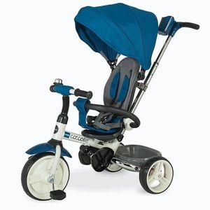 Tricicleta pliabila COCCOLLE Urbio albastru imagine