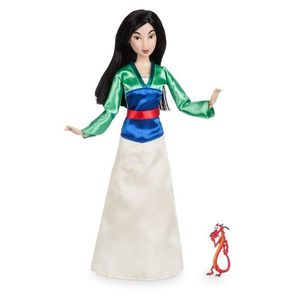 Papusa Disney Mulan cu figurina Mushu imagine