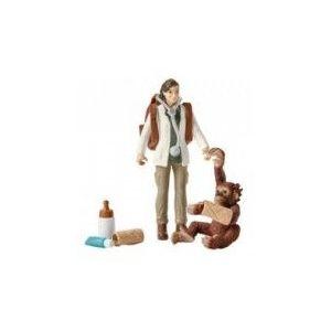 Set figurine Schleich - Vaterinar la munca - SL42353 imagine