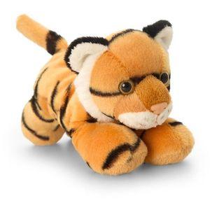 Tigru de plus 15 cm Keel Toys imagine