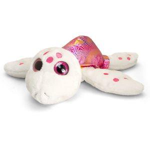 Broscuta testoasa de plus roz Sparkle Eye 25 cm Keel Toys imagine
