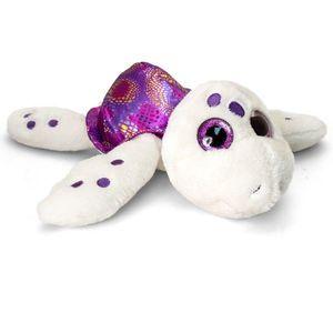 Broscuta testoasa de plus mov Sparkle Eye 25 cm Keel Toys imagine