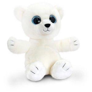 Ursulet polar de plus Sparkle Eyes 25 cm Keel Toys imagine