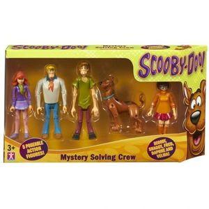 Set 5 figurine 13 cm personaje Scooby Doo- Echipa Misterelor imagine