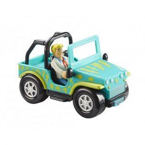 SCOOBY DOO Monster Safari Jeep& figurina Fred imagine