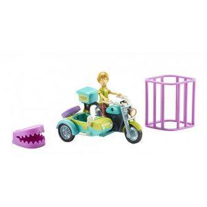 SCOOBY DOO Motocicleta cu atas & figurina Shaggy imagine