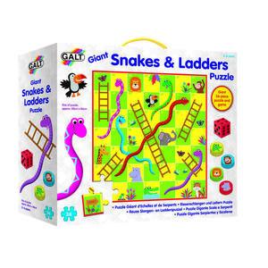 Puzzle de podea & Joc - Serpi si scari imagine