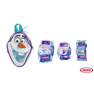 Frozen - set protectie in rucsac (genunchiere, cotiere, protectie incheieturi) - DArpeje imagine