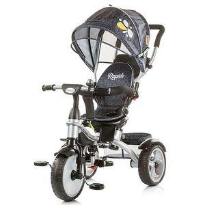 Tricicleta Chipolino Rapido black imagine
