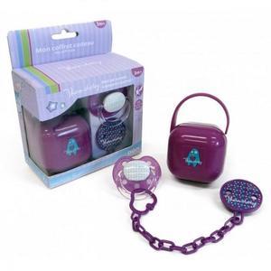 Thermobaby Set suzeta si accesorii, Purple imagine
