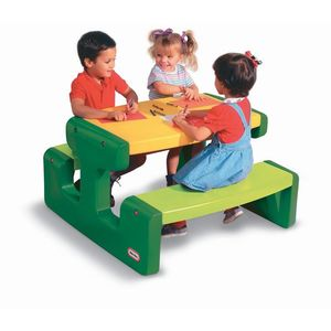 Masuta pentru picnic - verde - Little Tikes imagine