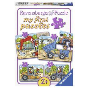 Puzzle santier, 2/4/6/8 piese imagine