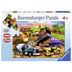 Puzzle constructie, 60 piese imagine