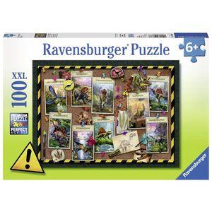 Puzzle dinozaur, 100 piese - Ravensburger imagine