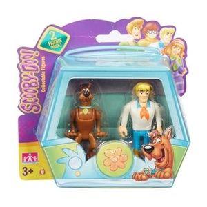 Set 2 figurine 7 cm Scooby Doo si Fred imagine