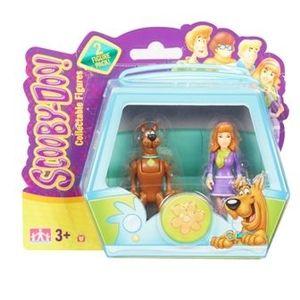 Set 2 figurine 7 cm Scooby Doo si Daphne imagine
