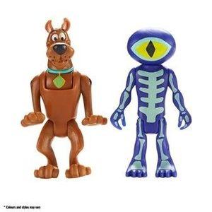 Set 2 figurine 7 cm Scooby Doo si Skeleton Man imagine
