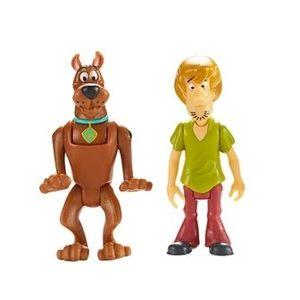 Set 2 figurine 7 cm Scooby Doo si Shaggy imagine