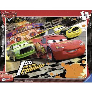 Puzzle cars 36 piese imagine
