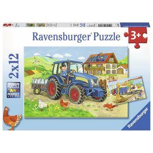 Puzzle santier, 2x12 piese imagine