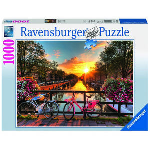 Puzzle 1000 piese, Amsterdam imagine