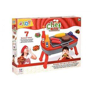 Set pentru copii Barbeque cu 7 accesorii imagine