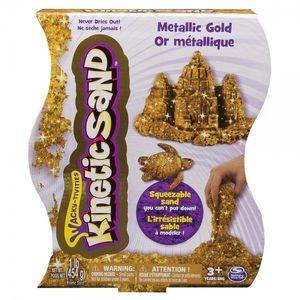 Nisip Kinetic Mettalic Auriu 454g - Kinetic Sand imagine