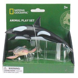 Set 2 figurine - Balena si Broasca Testoasa imagine